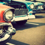 Classic cars for transporting